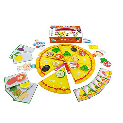 Picnmix PIZZA Sticker Puzzle Educational and Learning Games and Toys for 3 year olds to 7 year olds