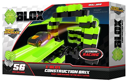 Max Traxxx Tracer Racers X-BLOX Construction Brix for Gravity Drive and Remote Control Sets