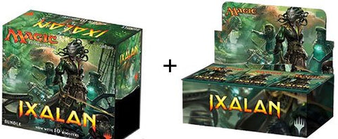 Magic the Gathering: Ixalan Booster Display Box + Bundle Box