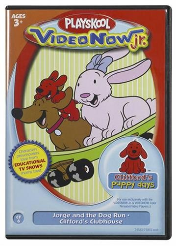 Videonow Jr. Personal Video Disc: Clifford #6