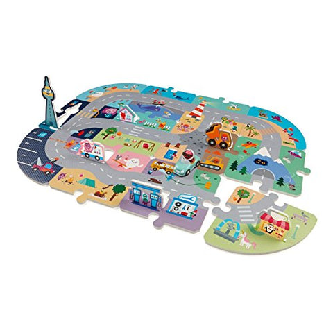 Sago Mini - Puzzle Mats - Robins Roadtrip