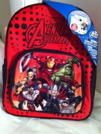 Marvel Avengers Assemble Watercolor Activity Set Backpack