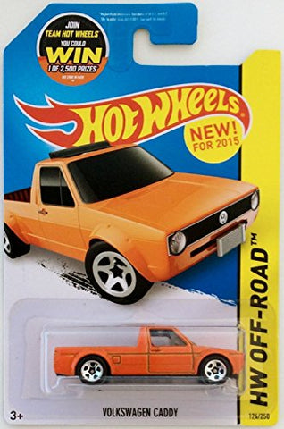 Hot Wheels 2015 HW Off-Road Volkswagen Caddy 124/250, Orange