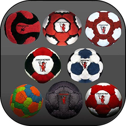 Collection of 8 Pro Footbags Hacky Sack Sand & Iron, Pellets & Iron and Full 100% Raw Iron, All Footbag Weighted At 2.1 Once
