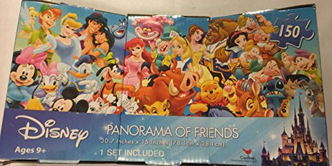 Disney panorama of friends