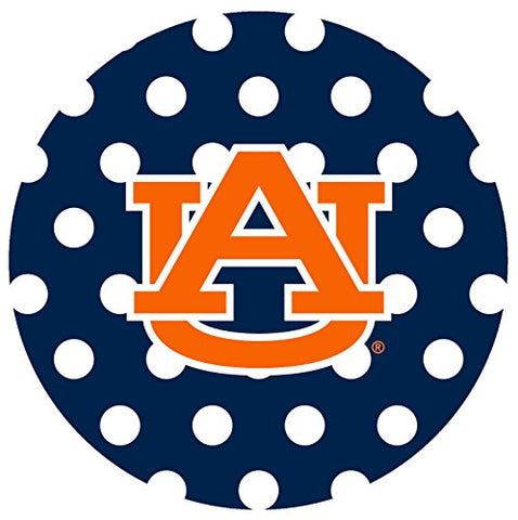 Thirstystone Stoneware Coaster Set, Auburn University Dots