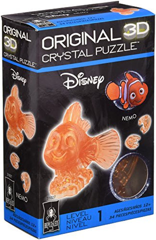 BePuzzled Original 3D Finding Nemo Crystal Puzzle