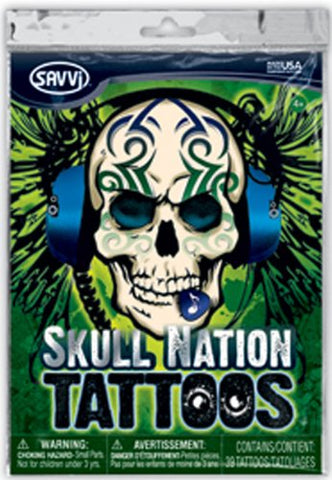 Skull Nation Tattoos