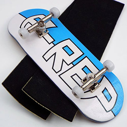 P-Rep LARGE LOGO 34mm Complete Wooden Fingerboard w CNC Lathed Bearing Wheels