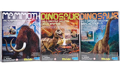 Dig A Dino Excavation Kit Series III Dinosaurs