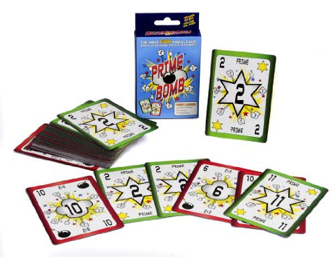 American Educational Prime Bomb Card Game