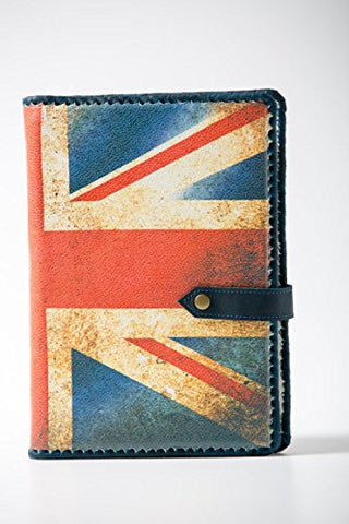 A5 - COMMONWEALTH - LuxusOlymp 's Exclusive Handmade Embossed Leather Journal - Refillable - 9 X 6.5