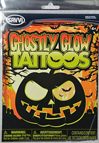 Ghoslty Glow Tattoos