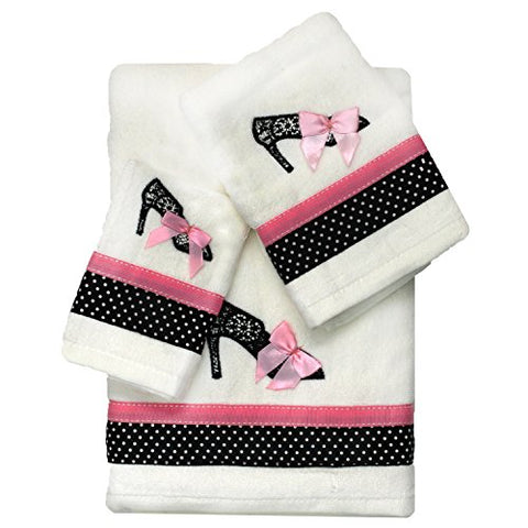 Homewear 7908-Twl Glamour Girl Fingertip Towel, Multi