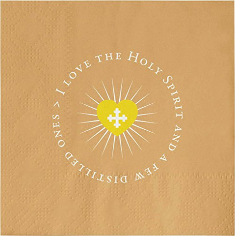 Sb Design Studiogratitude Cocktail 20-Count 3-Ply Paper Napkins, Holy Spirit