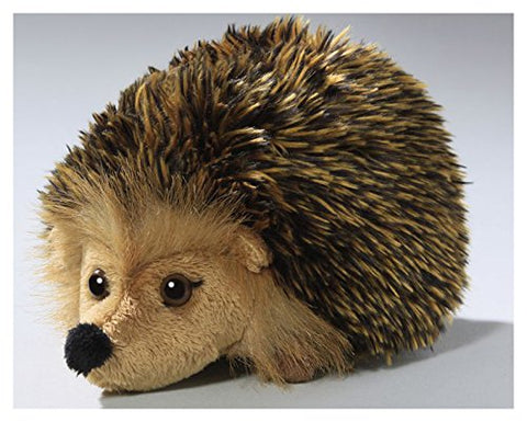 Hedgehog brown, 6 inches, 16cm, Plush Toy, Soft Toy, Stuffed Animal