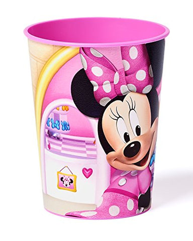 american greetings minnie mouse plastic party cups 12 count 16 oz. Black Bedroom Furniture Sets. Home Design Ideas