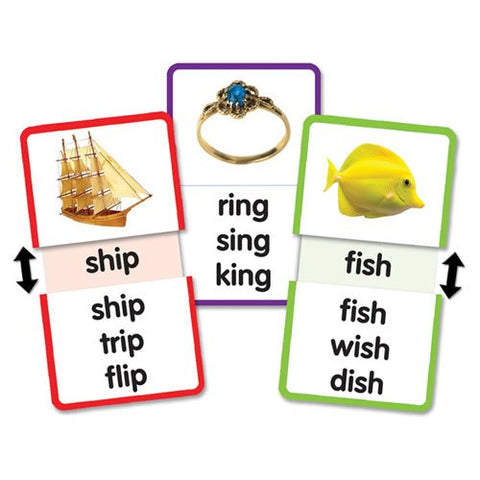 Teacher Created Resources Word Families - Short I Slide & Learn Flash Cards (6560)