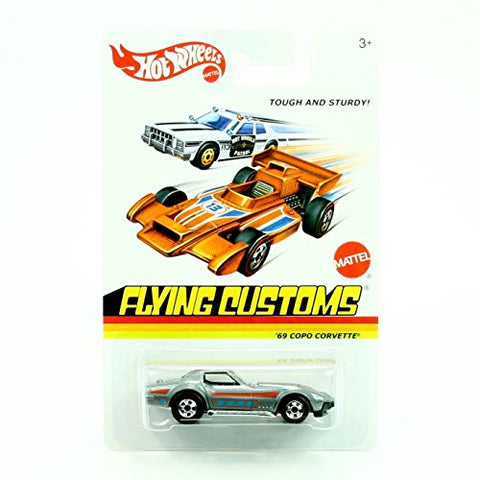 '69 COPO CORVETTE * Flying Customs * 2013 Release of the 1974 Classic Series - 1:64 Scale Throw Back HOT WHEELS Die-Cast Vehicle