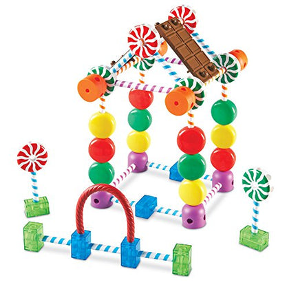 Learning Resources Candy Construction Building Set, 92 Pieces