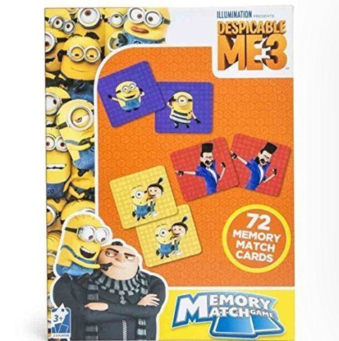 Despicable Me 3 Memory Match Game