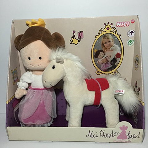 Nici Wonderland Princess  Minilisbeth  with Horse and Accessories