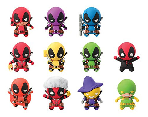 Marvel Deadpool Series 2, 3D Foam Collectible Blind Bag