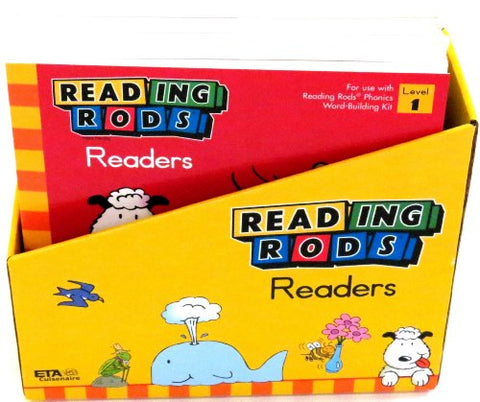 ETA hand2mind Reading Rods Readers: Phonics Foundation 1 (Set of 16)