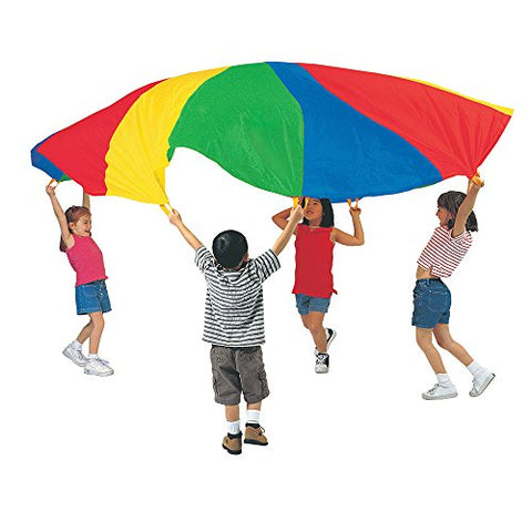Pacific Play Tents Kids 20 Foot Parachute with Carry Bag, No Handles