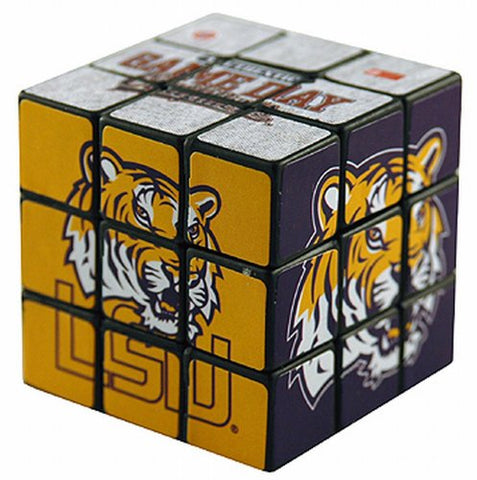 NCAA LSU Fightin Tigers Toy Puzzle Cube