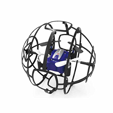 WonderTech Drone W109 Cyclone Drone with Easy to Fly Technology | Blue