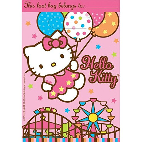 Hello Kitty Treat Bags, Balloon Dreams , Party Supplies