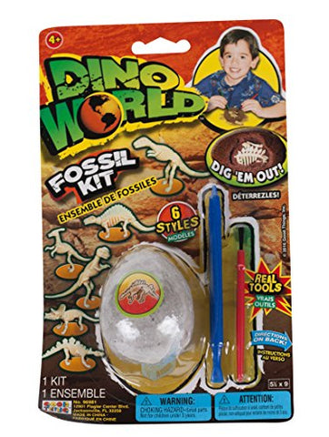 Dino World Fossil Kit With Real Tools,