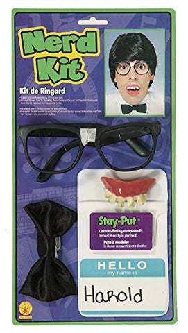 Rubies Instant Nerd Costume Accessory Kit