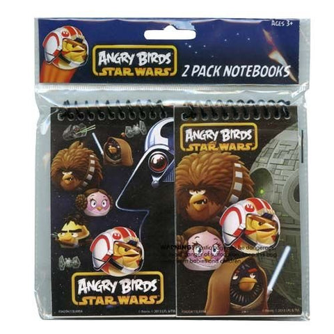 Angry Birds Star Wars 3 x 5 Personalized 2pk Memo Pad notebooks in Poly Bag