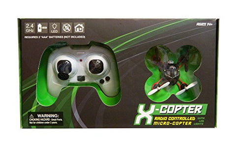 Braha X-Copter 2.4 GHZ Micro Quad Copter