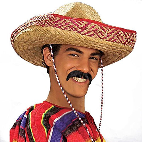 Black Pancho Moustache
