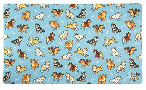 Shibas Playmat by Inked Gaming / Inked Playmats / Perfect for MtG Pokemon & YuGiOh Magic the Gathering TCG Game Mat