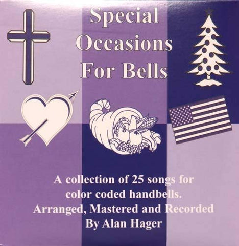 Hager Special Occasions Song Book For Bells With Cd (25 Songs; All Ages)