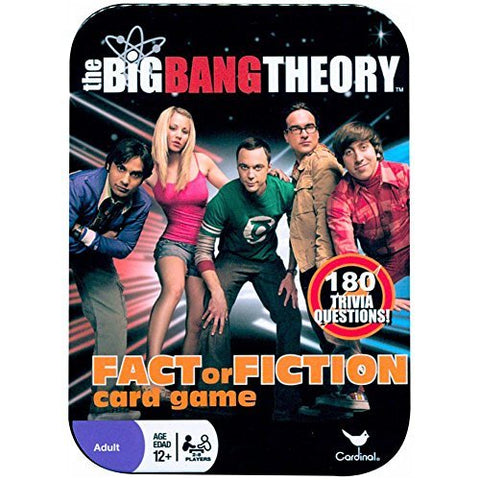 The Big Bang Theory Fact of Fiction Card Game by Cardinal