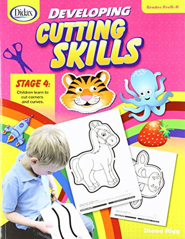 Didax Educational Resources 211347 Developing Cutting Skills Prek-K Book