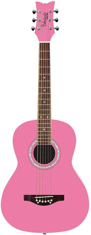 Other 6 String Acoustic Guitar, Right, Bubble Gum Pink (Other)