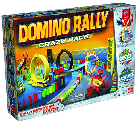 Domino Rally Crazy Race  Dominoes for Kids  STEM-based Learning Set