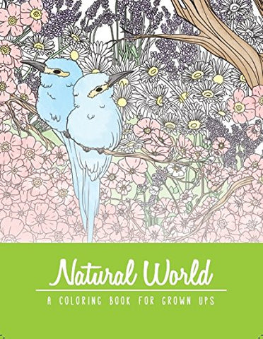 Just For Laughs Natural World Adult Coloring Book