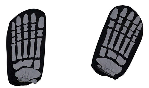 Children'S Glow-In-The-Dark Skeleton Feet - Halloween Theme Party Costume