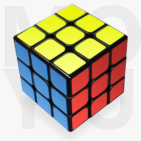 Benran Rubiksspeed Cube,2X2/3X3 Smooth Cornering Puzzle Cube, Easily Twist With Superior Cornering, Eco-Friendly Abs Plastics (3X3)