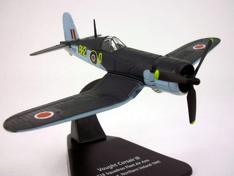 F4U-1 Corsair Iii - British - 1/72 Scale Diecast Metal Model