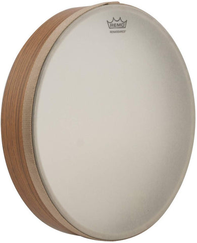 Remo 12 Inch Renaissance Hand Drum With Thumb Cut-Out (Teen/Adult)