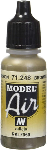 Vallejo Brown Grey 17Ml Paint