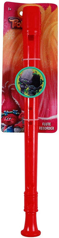 Dreamworks Licensed Trolls Movie Branch Kids Music Instrument Flute Recorder Toy